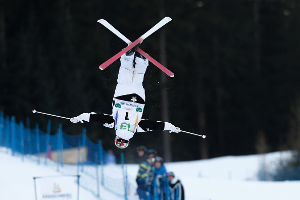 Mikael Kingsbury earned his fifth consecutive World Cup win ©Agence Zoom/Getty Images
