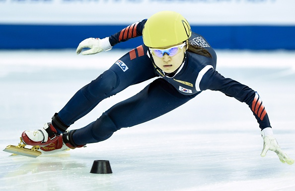 Minjeong Choi began a day of Korean dominance by winning the women's 1500m event ©Getty Images
