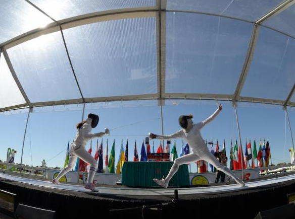 Sarasota-Bradenton will host the men's Modern Pentathlon World Cup event on Saturday ©UIPM