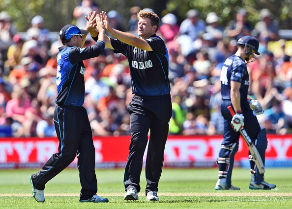 New Zealand earned a three wicket win over Scotland in a low scoring contest in Dunedin ©Getty Images
