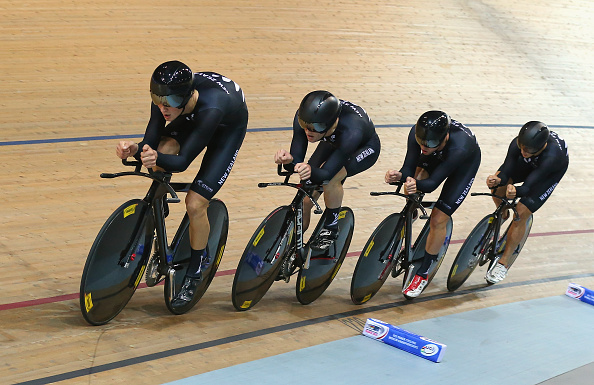 New Zealand edged Britain in a thrilling men's team pursuit final ©Getty Images