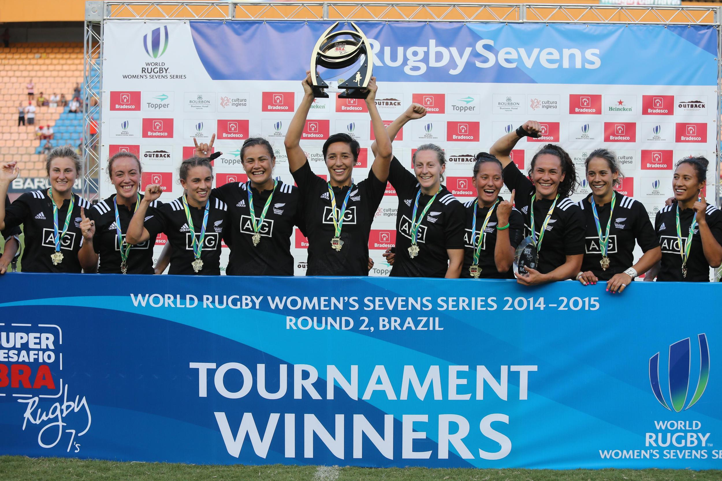 New Zealand lead the overall standings after victories in the opening legs of the series ©World Rugby