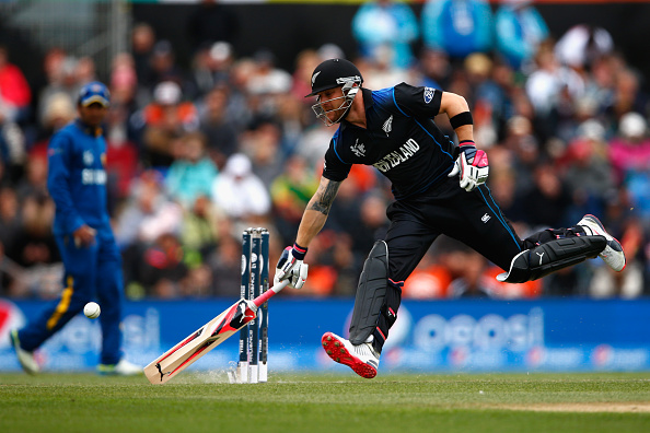New Zealand started the Cricket World Cup in style with a 98-run win over the 1996 winners Sri Lanka in Christchurch ©Getty Images