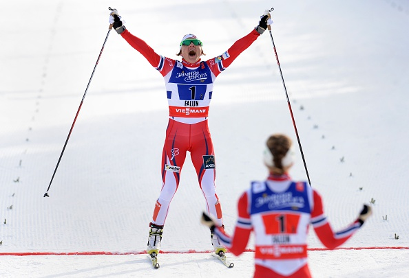 Noway stormed to victory in the women's team sprint ©AFP/Getty Images