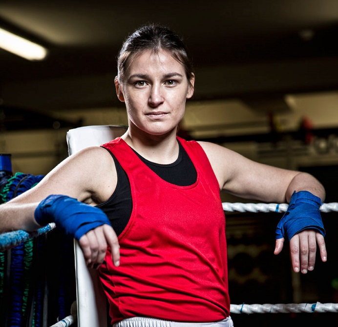 Olympic champion Katie Taylor has been named as an international ambassador for the European Games ©Baku 2015