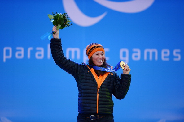The Netherlands Paralympic champion Bibian Mentel-Spee will be among the field at the IPC Para-Snowboard World Championships in La Molina later this month ©Getty Images