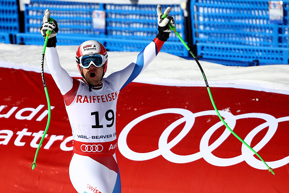 Patrick Kueng claimed gold in the men's downhill event in Colorado ©Getty Images