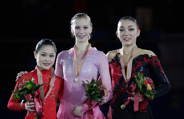 Polina Edmunds won on her debut at the Four Continents Figure Skating Championships ©Getty Images
