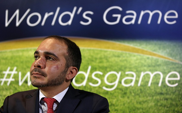 Prince Ali believes there is a culture of intimidation within FIFA and that he won't be a part of the governing body if Sepp Blatter is re-elected ©Getty Images
