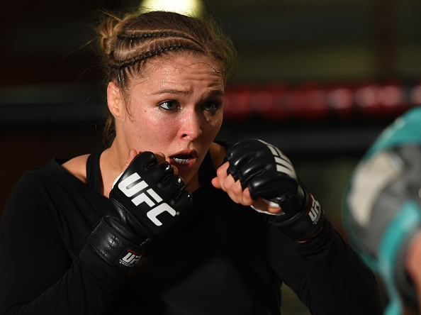 Olympic bronze medallist Ronda Rousey is the highest profile judoka to switch to mixed martial arts ©Getty Images