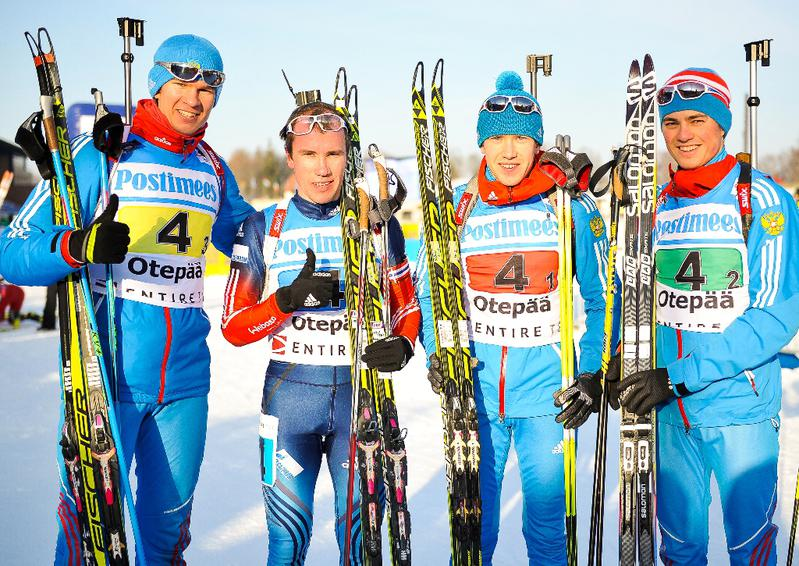 Russia dominated the majority of the men's race to cap off an excellent IBU Open European Championships in Otepää, Estonia ©IBU