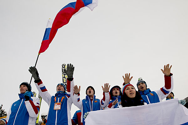 Russia have dominated competition at the Slovakian venues ©FISU
