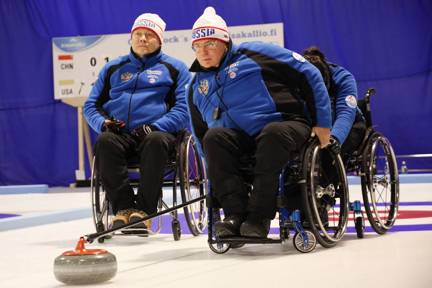 Russia remain the only undefeated team after five sessions of play at the World Wheelchair Curling Championship ©WCF/Alina Pavlyuchik