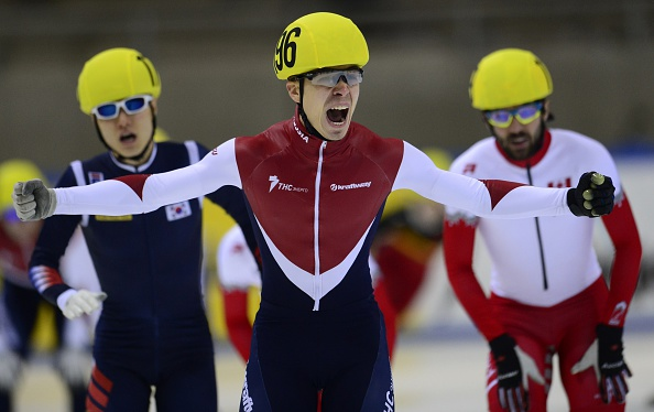 Semion Elistratov continued his sparkling run of form with his second consecutive 1,000m World Cup victory ©Getty Images