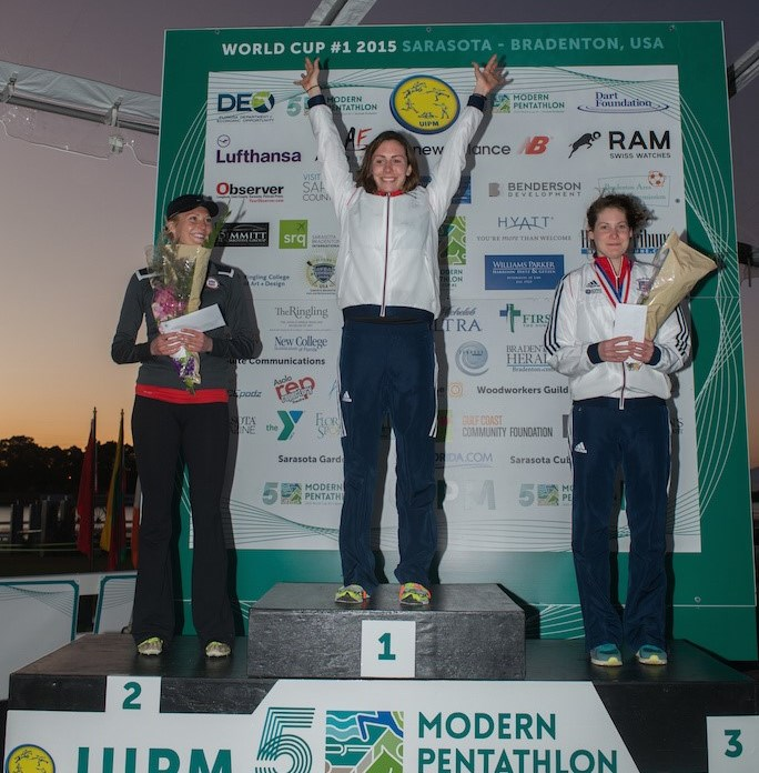 World champion and London 2012 silver medallist Samantha Murray scored valuable ranking points for Rio 2016 with her victory in Sarasota-Bradenton ©UIPM