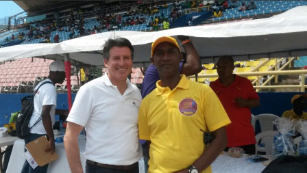 Sebastian Coe has been promised the support of Jamaica in his bid to become the new IAAF President ©Twitter