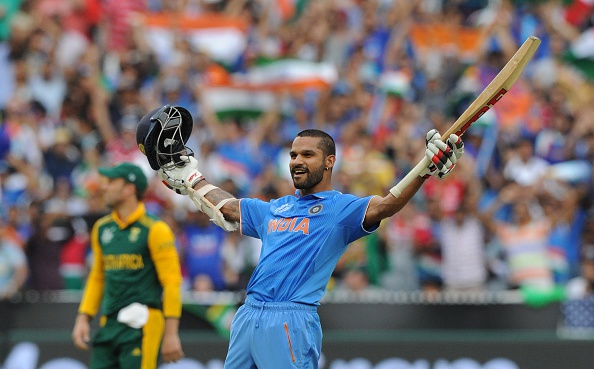 Shikhar Dhawan's knock of 137 helped India earn a crushing win over South Africa in Melbourne ©Getty Images