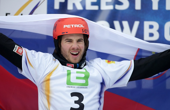 Slovenia's Zan Kosir claimed the first crystal globe of his career thanks to his victory in the parallel giant slalom in Asahikawa ©Getty Images
