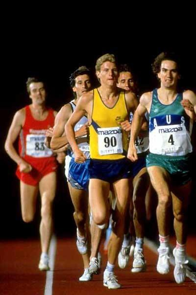 This year marks the 30th anniversary of Steve Cram setting a world mile record at Oslo ©Getty Images