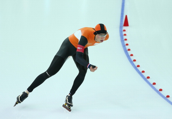 Infront will be hoping to tap into The Netherlands' world-leading speed skating market. Sven Kramer was one dominant team member in Sochi, winning two golds and a silver medal ©Getty Images