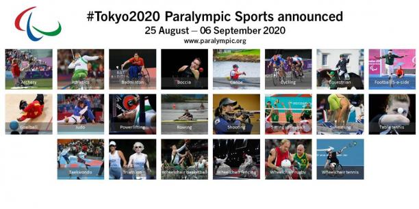 Sailing was also left of the 22 Paralympic sport programme for Tokyo 2020 ©IPC