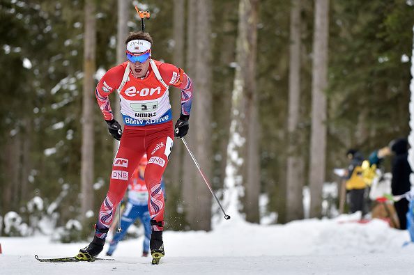 Tarjei Boe delivered under pressure as he shot clean on the final stage to give Norway a dramatic victory ©Getty Images