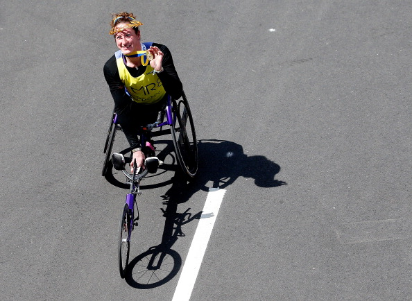 Tatyana McFadden will be hoping to win the Laureus World Sportsperson of the Year with a Disability Award after missing out last year ©Getty Images