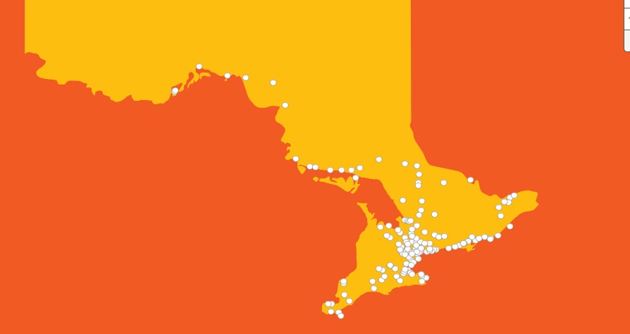 The 41-day Torch Relay route is set to reach around 130 communities in Ottawa and five outside of the region ahead of the Pan American Games ©Toronto 2015