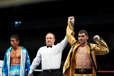 The Astana Arlans Kazakhstan proved far too strong for the Argentina Condors ©WSB