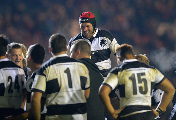 The Barbarians will face Samoa in the first rugby union match held in the stadium ©Getty Images