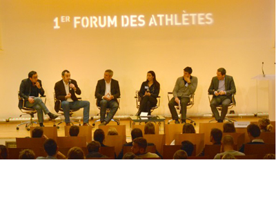 The French Olympic Committee hosted their first Athletes' Forum in Paris ©EOC