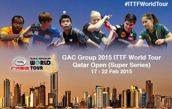 The ITTF Super Series event is set to get underway in Doha today ©ITTF