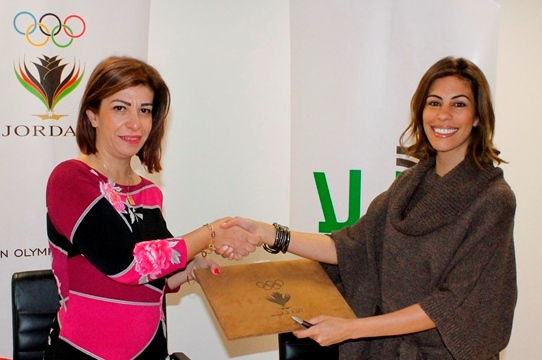 The Jordan Olympic Committee has signed an official partnership with Radio Hala and Bliss 104. 3FM ©JOC