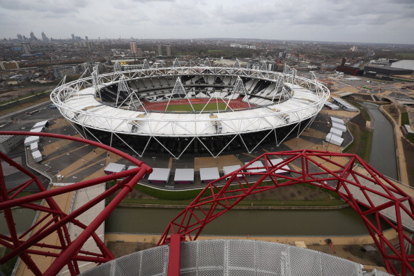 The London 2012 Olympic Stadium is set to host the second Test of the three-match rugby league series between England and New Zealand this autumn ©Getty Images