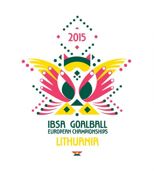 The Organising Committee for the 2015 IBSA Goalball European Championships have unveiled the competitions logo