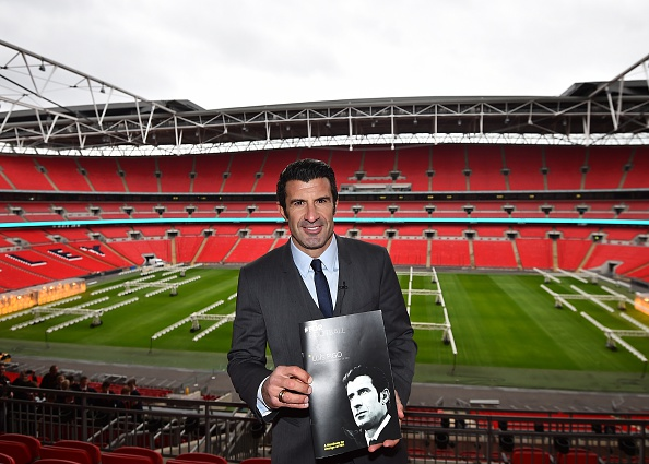 Portuguese legend Luis Figo said grassroots football was at the heart of his campaign to become the next FIFA President  ©AFP/Getty Images