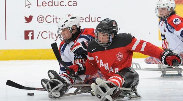 The US produced a superb performance to defeat Canada at the World Sledge Hockey Challenge ©Hockey Canada