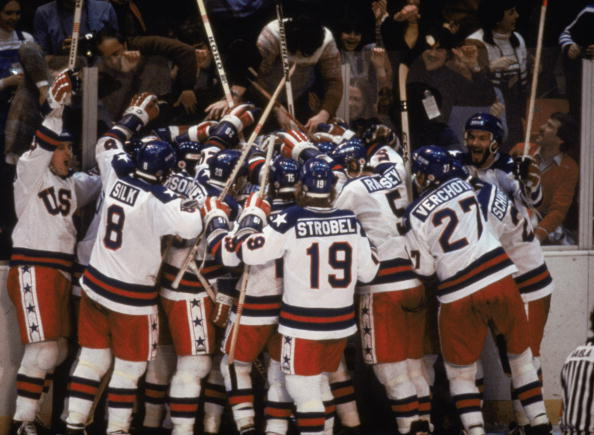 The US team's 4-3 win over the Soviet Union at the 1980 Winter Olympics is still regarded as one of the most historic moments in sport ©Getty Images