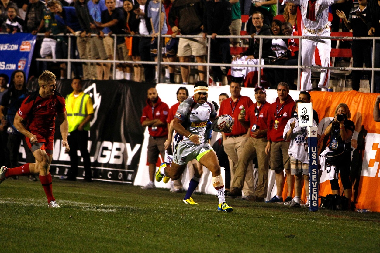 The United States will be hoping to advance to their second sevens final ©World Rugby