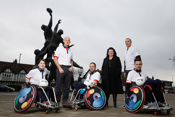 The inaugural BT World Wheelchair Rugby Challenge will take place in October ©BT