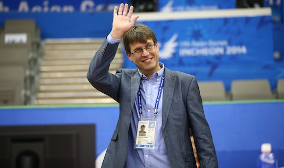 Thomas Weikert has called time on his role as President of the German Table Tennis Association ©ITTF