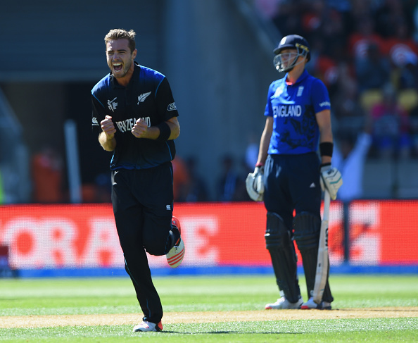 New Zealand's Tim Southee carved through England's batting line up ending with figures of 7-33 ©Getty Images