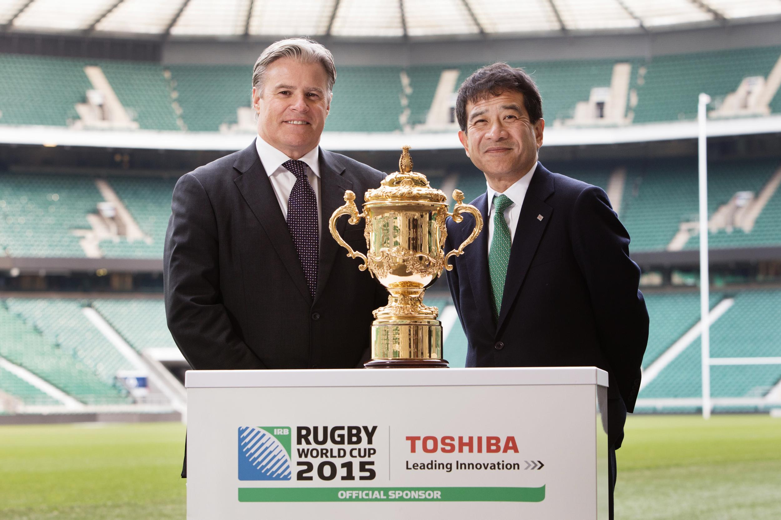 Toshiba have been announced as an official partner for England 2015