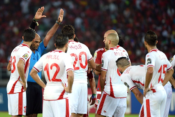 Tunisia's quarter-final defeat to the hosts was yet another controversy at the showpiece continental event ©AFP/Getty Images