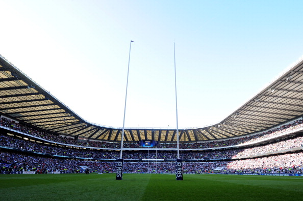 Twickenham Stadium will play host to Italy's Pool D opener against France ©Getty Images
