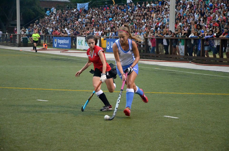Uruguay enjoyed a strong tournament but were found wanting in the final match ©FIH/Danielo Scalese