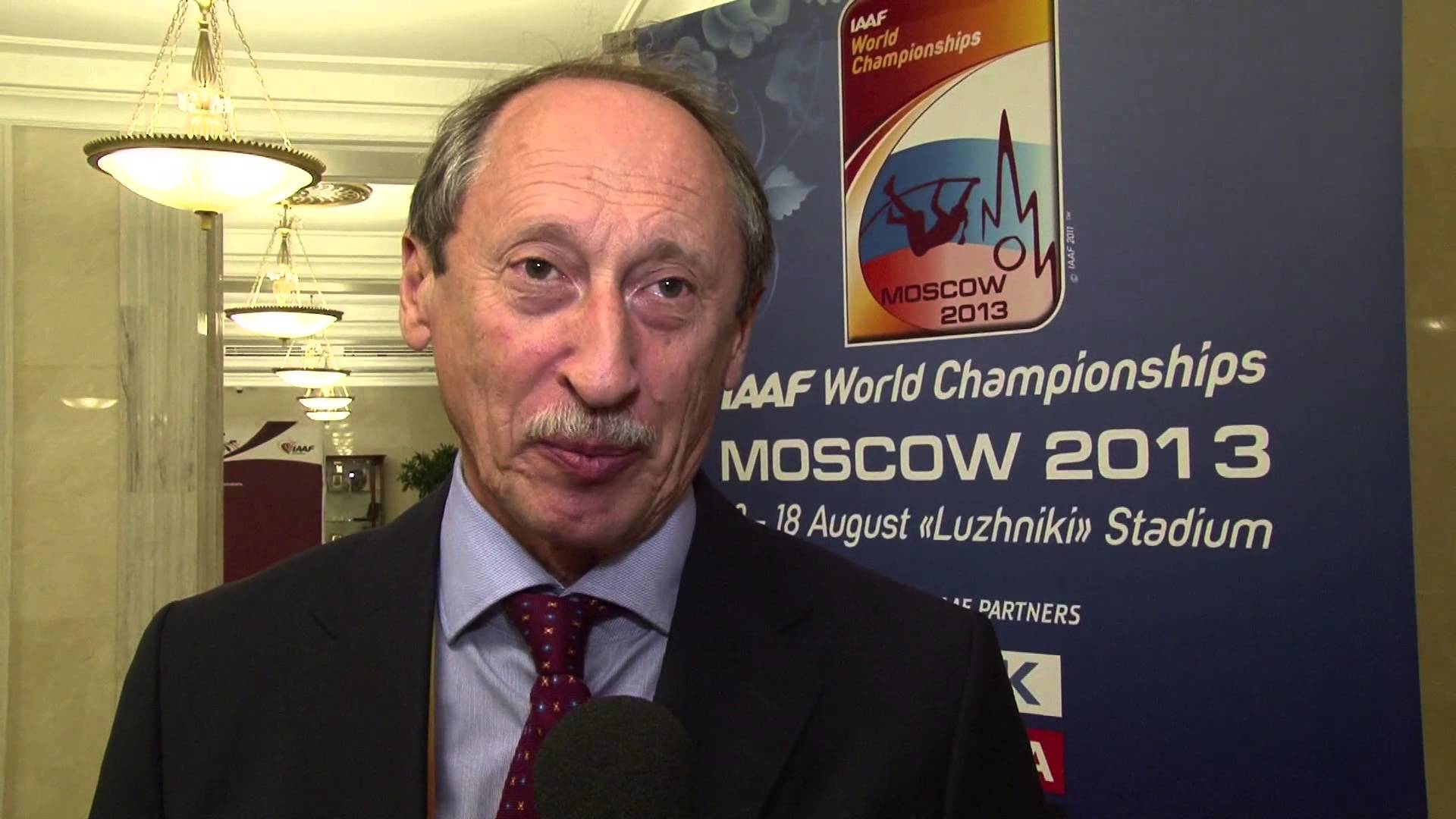 Valentin Balakhnichev has announced he is to step down as President of the All-Russian Athletics Federation ©YouTube