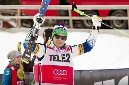 Victor Oehling Norberg continued his imperious form with his third-straight victory in front of his home crowd at Are ©FIS