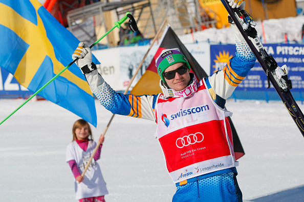 Victor Oehling Norberg of Sweden has a commanding advantage in the men's World Cup standings ©Agence Zoom/Getty Images