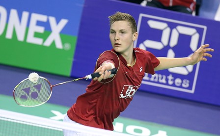 Viktor Axelsen is part of the Denmark team tipped for success at the 2015 European Mixed Team Championships ©BadmintonPhoto